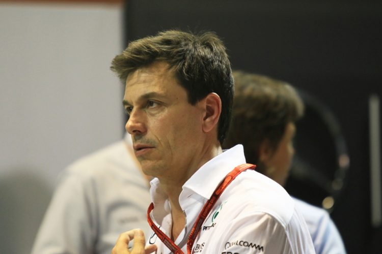 Toto Wolff sees Malaysia as their second home race - Credit: Octane Photographic Ltd