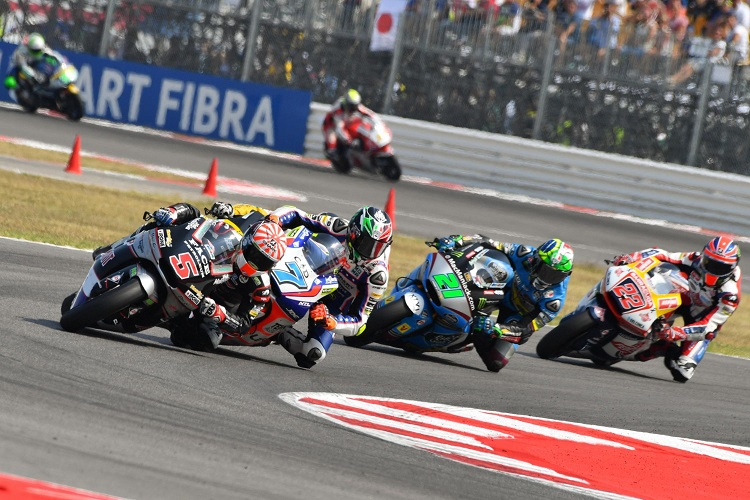Johann Zarco (no.5) - Photo Credit: MotoGP.com