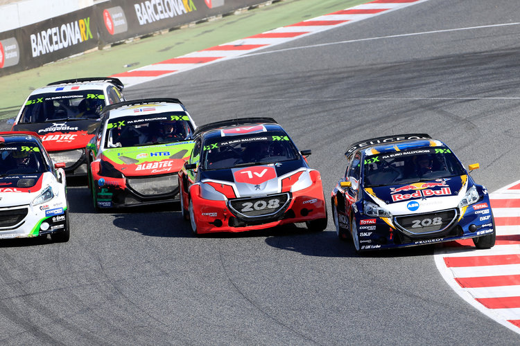 FIA WORLD RALLYCROSS CHAMPIONSHIP 2016 - SPAIN - BARCELONA - WRX - 16/09/2016 TO 18/09/2016 - PHOTO : @tWorld / Paulo Maria