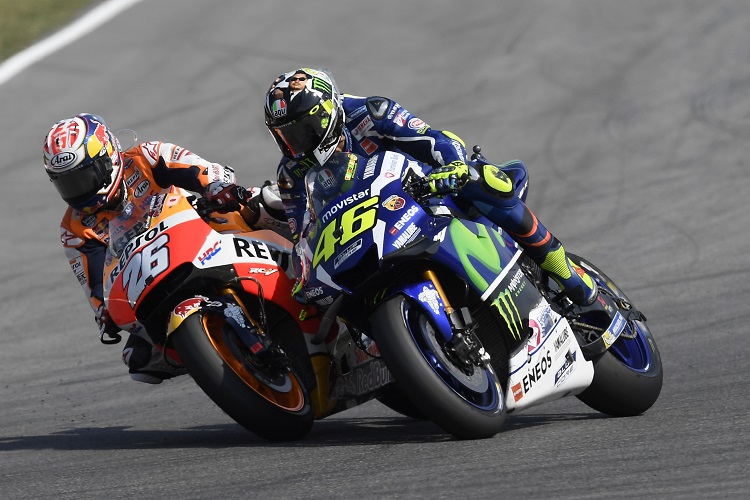 Pedrosa passes Rossi for victory at Misano - Photo Credit: Repsol Honda