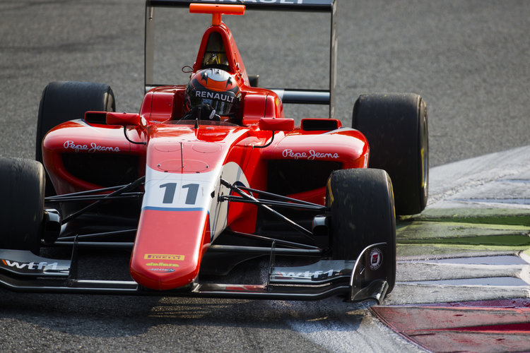 2016 GP3 Series Round 7 Autodromo di Monza, Italy. Saturday 3 September 2016. Jack Aitken (GBR, Arden International)  Photo: Sam Bloxham/GP3 Series Media Service. ref: Digital Image _SBB8690