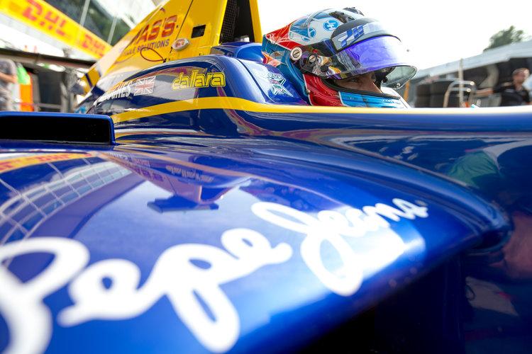 2016 GP3 Series Round 7.  Autodromo Nazionale di Monza, Monza, Italy. Saturday 3 September 2016. Jake Hughes (GBR, DAMS)  Photo: Zak Mauger/GP3 Series Media Service. ref: Digital Image _L0U4949