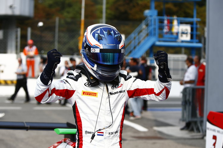 Nyck De Vries (NED, ART Grand Prix)  2016 GP3 Series Round 7 Autodromo Nazionale di Monza, Italy. Sunday 4 September 2016  Photo: /GP3 Series Media Service ref: Digital Image _L0U5538