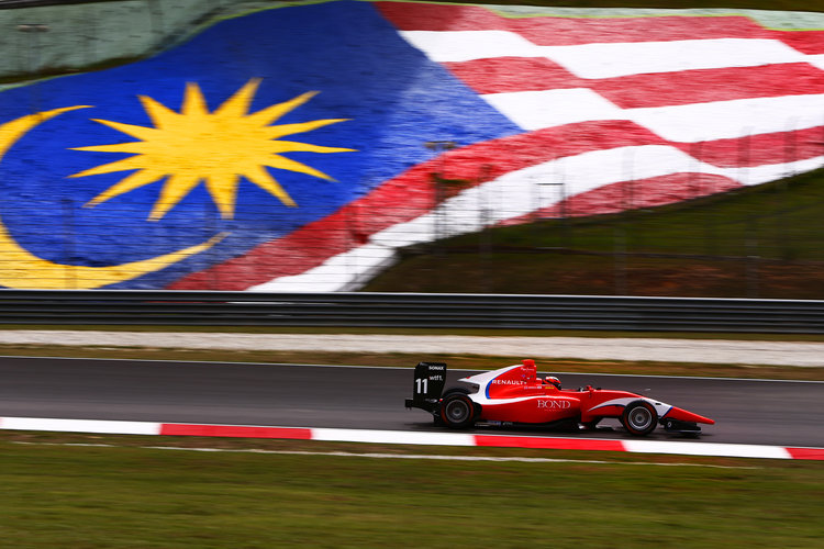 Sepang International Circuit, Sepang, Malaysia. 2016 GP3 Series Round 8 Sepang International Circuit, Sepang, Malaysia. Thursday 29 September 2016  Photo: /GP3 Series Media Service ref: Digital Image _L0U6682