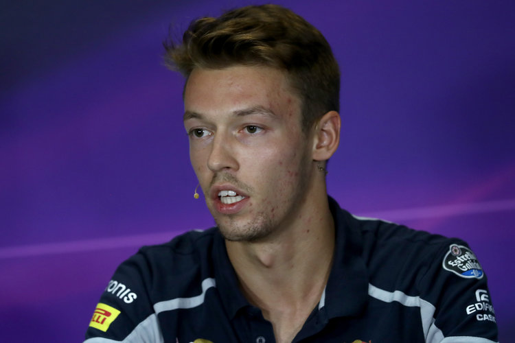 Daniil Kvyat - Credit: Clive Rose/Getty Images