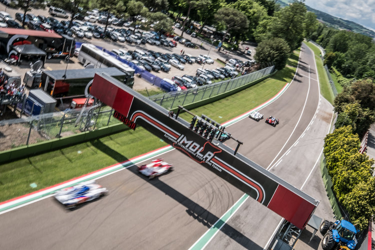 Race Start at the ELMS 4 Hours of Imola - Autodromo Enzo e Dino Ferrari - Imola - Italy