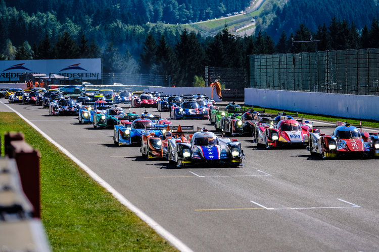 The start of the ELMS 4 Hour of Spa - Spa Francorchamps - Stavelot - Belgium