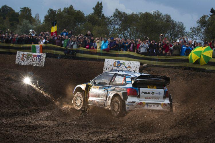Sebastien Ogier tops the times in Rally Spain Shakedown