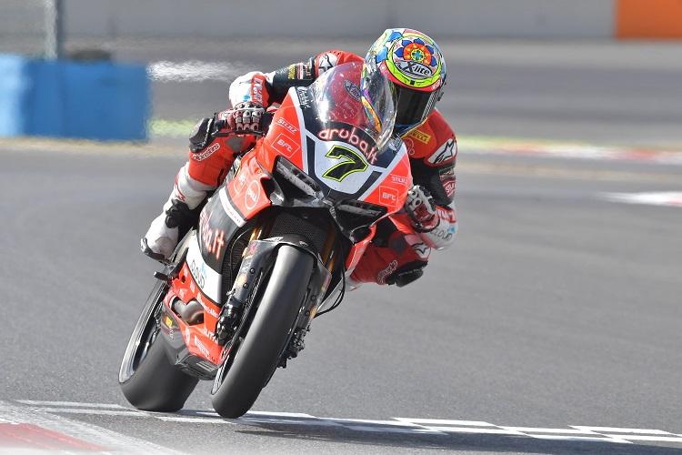 Chaz Davies - Photo Credit: Ducati