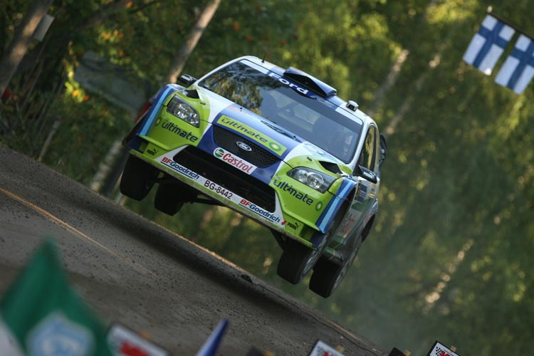2006 Rally Finland Marcus Gronholm Ford