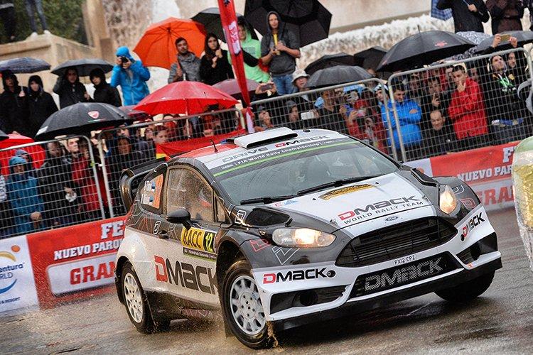 2016 Rally Catalunya - Rally de Espana Ott Tanak SS1
