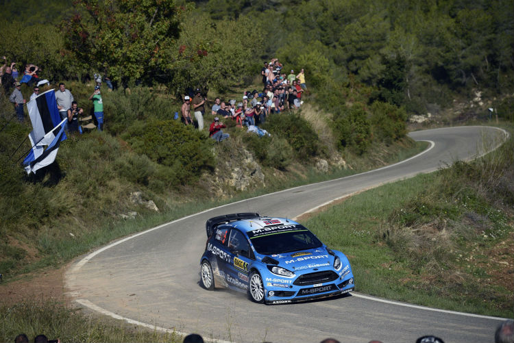 Mads Ostberg grabs fifth in Rally Spain