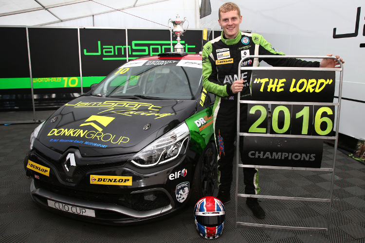 Ant Whorton-Eales - 2016 Renault UK Clio Cup Champion - Credit: Jakob Ebrey Photography