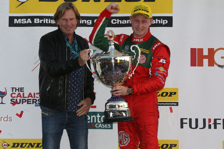 Ashley Sutton – 2016 Dunlop MSA British Touring Car Championship 'Jack Sears Trophy' Champion