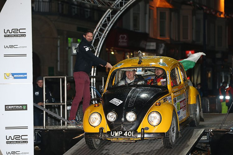 Bertie the Beetle 2016 Wales Rally GB Network Q
