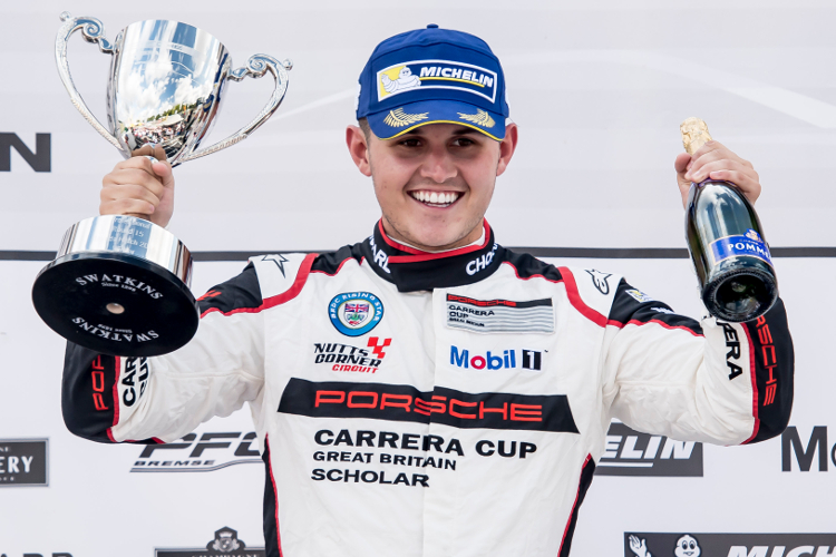 Charlie Eastwood – 2016 Porsche Carrera Cup GB 'Rookie' Champion
