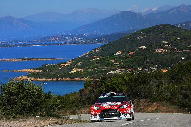 Craig Breen Citroen Racing 2016 Tour de Corse Day 1