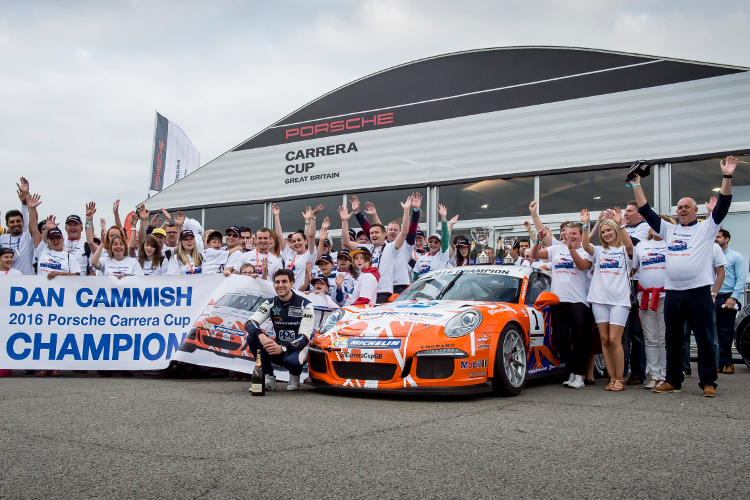 Dan Cammish – 2016 Porsche Carrera Cup GB Champion