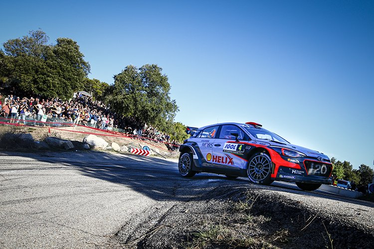 Ogier stretches Tour of Corsica lead