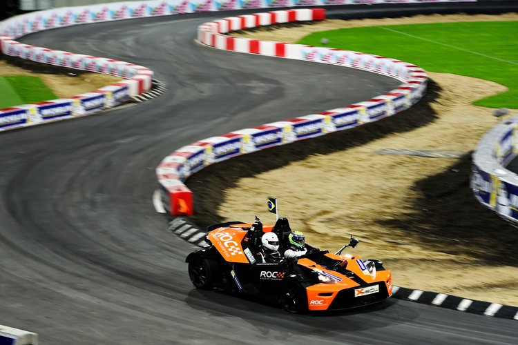 Felipe Massa (BRA) in the KTM X-Bow / Race of Champions Media