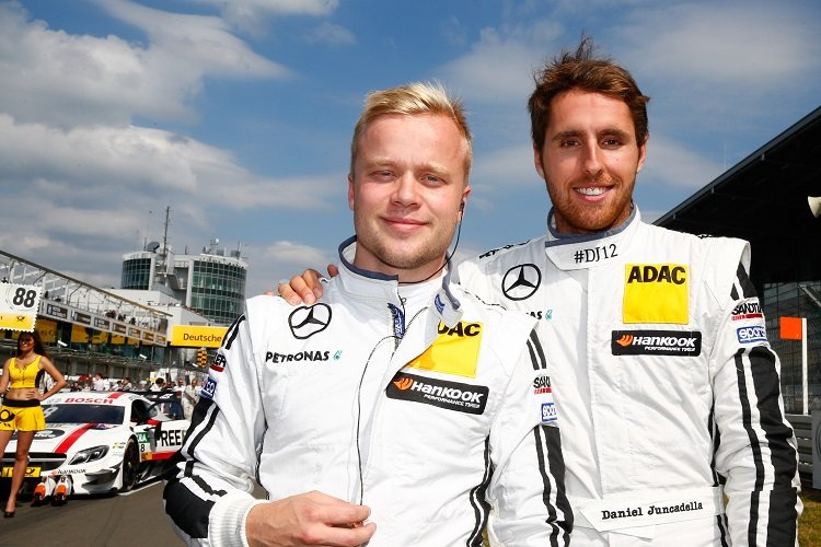 Felix Rosenqvist & Daniel Juncadella will both race at Macau - Credit: DTM Series