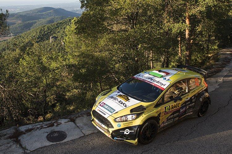 Frigyes Turan WRC2 DDFT 2016 Rally Catalunya - Rally de Espana