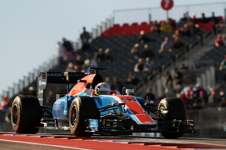 Jordan King - Credit: Manor Racing