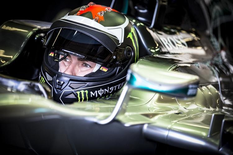 Jorge Lorenzo - Credit: Daimler Media / Mercedes Motorsport