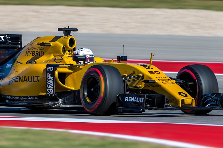 Kevin Magnussen - Credit: Renault Sport Formula One Team