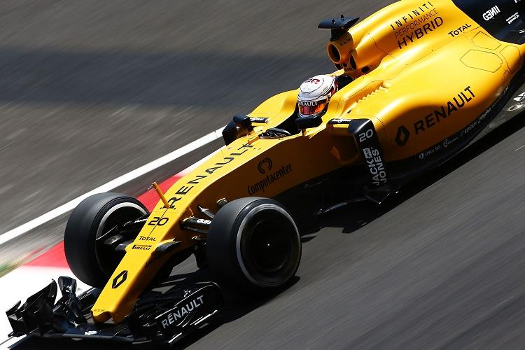 Kevin Magnussen - Credit: Renault Sport F1