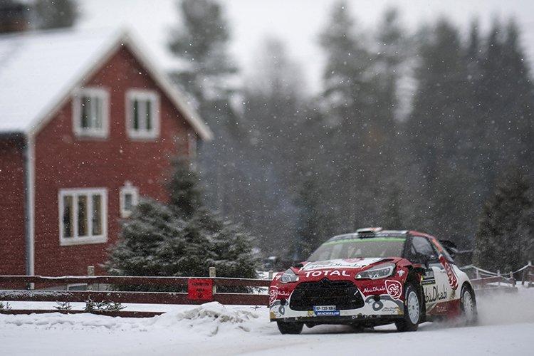 Khalid Al Qassimi Citroen 2016 Rally Sweden