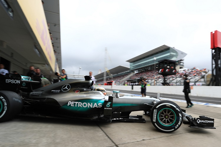 Mercedes clinched the Constructors' Championship in Japan - Credit: Octane Photographic Ltd