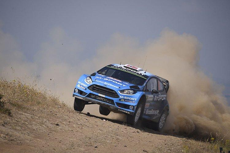 Mads Ostberg 2016 Rally Catalunya M-Sport 2016 Rally di Sardegna