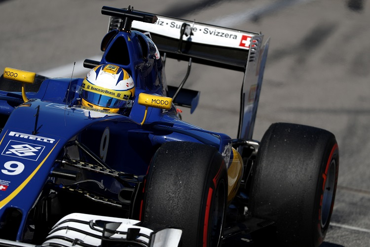 Marcus Ericsson - Credit Sauber Motorsport AG