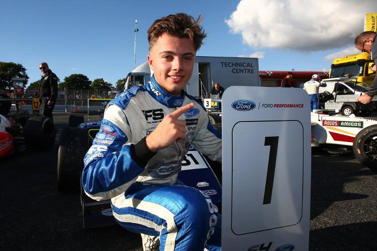 Max Fewtrell – 2016 F4 British Championship Drivers Champion