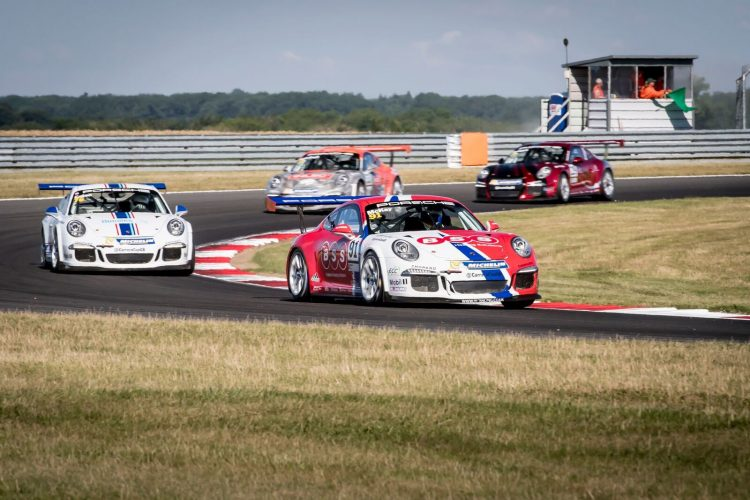 Dan claimed his first Pro-Am1 success in Snetterton R2. (Credit: James Lipman)