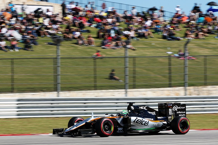 Nico Hulkenberg - Credit: Sahara Force India