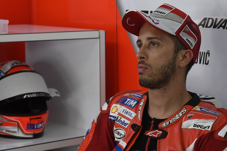 Andrea Dovizioso - Photo Credit: Ducati