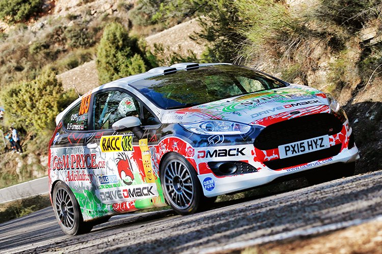 Osian Pryce 2016 RallyRACC Catalunya Day 2 DDFT