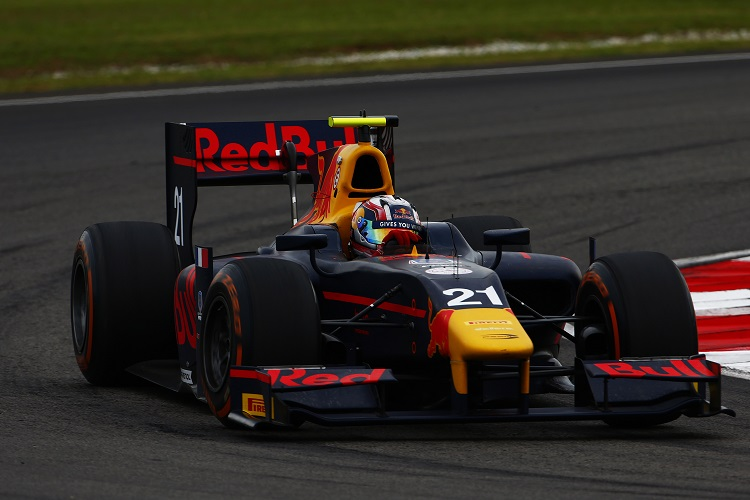 Pierre Gasly - Credit: Zak Mauger/GP2 Series Media Service