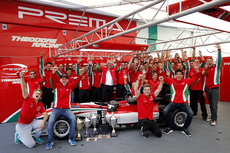 Prema Powerteam - Credit: FIA Formula 3 European Championship