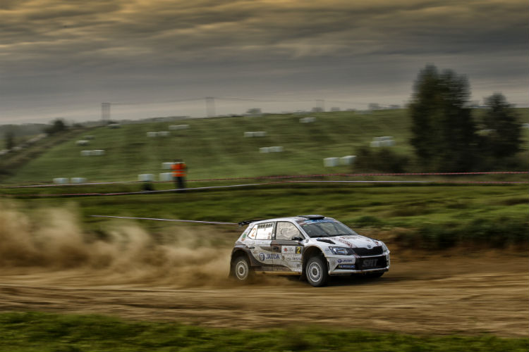 Ralf Sirmacis won Rally Liepāja last time out - Credit: Gregory Lenormand / DPPI