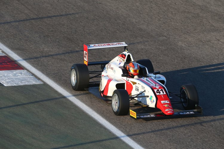 Raul Guzman Marchina (DR Formula,Tatuus F.4 T014 Abarth #41)