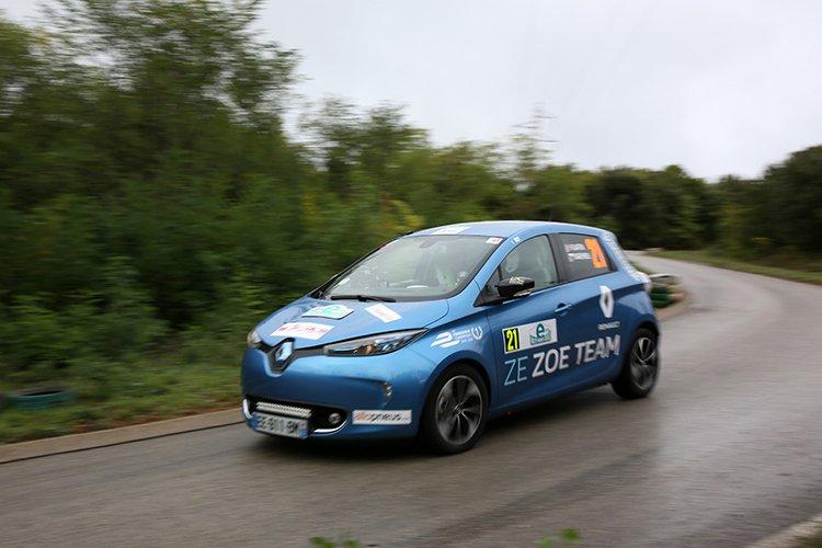 Renault ZOE 2016 e-Rallye Monte-Carlo
