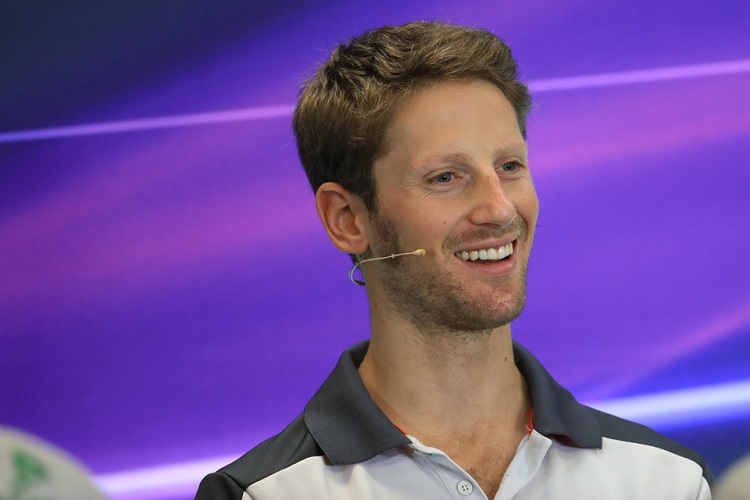 Romain Grosjean - Credit: Octane Photographic Ltd