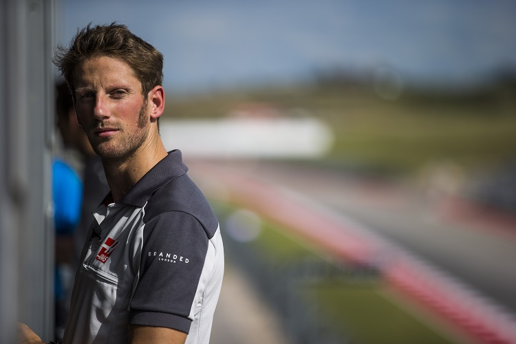 Romain Grosjean - Credit: Haas F1 Team