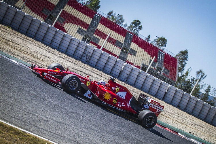 Sebastian Vettel - Credit: Pirelli & C. S.p.A