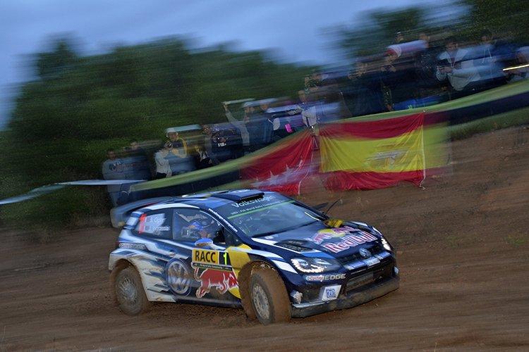 Sebastien Ogier 2016 Rally Catalunya - Rally de Espana Shakedown