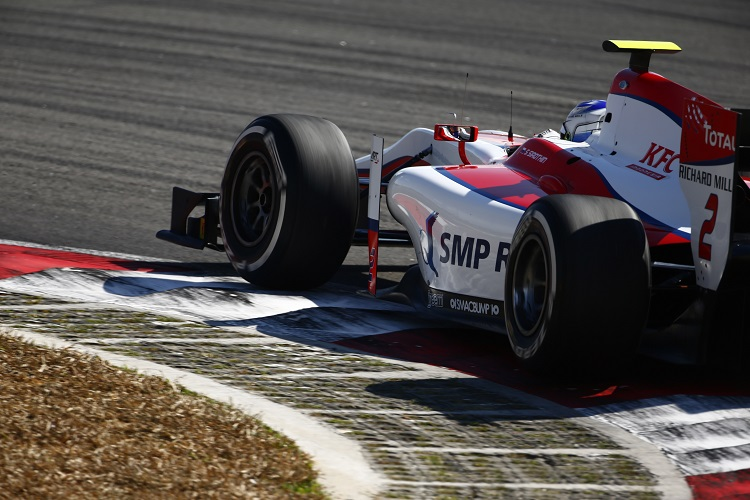 Sergey Sirotkin - Credit: Zak Mauger/GP2 Series Media Service