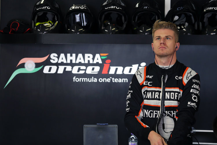 Nico Hulkenberg (GER) Sahara Force India F1. Japanese Grand Prix, Sunday 9th October 2016. Suzuka, Japan. Credit: Sahara Force India